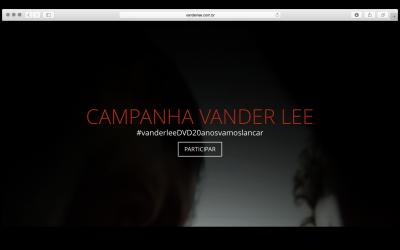 Campanha Vander Lee – DVD 20 Anos Vamos Lançar