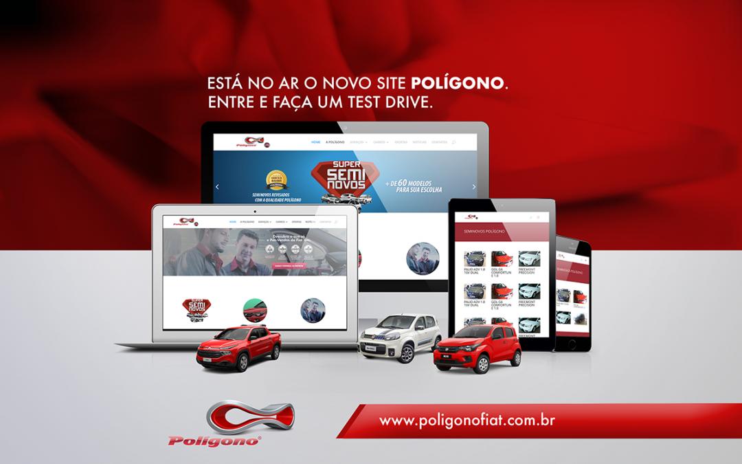 Novo Site Polígono Fiat