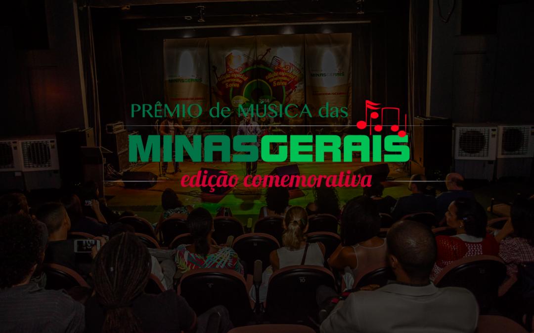 Prêmio de Música das Minas Gerais Celebra 5 anos