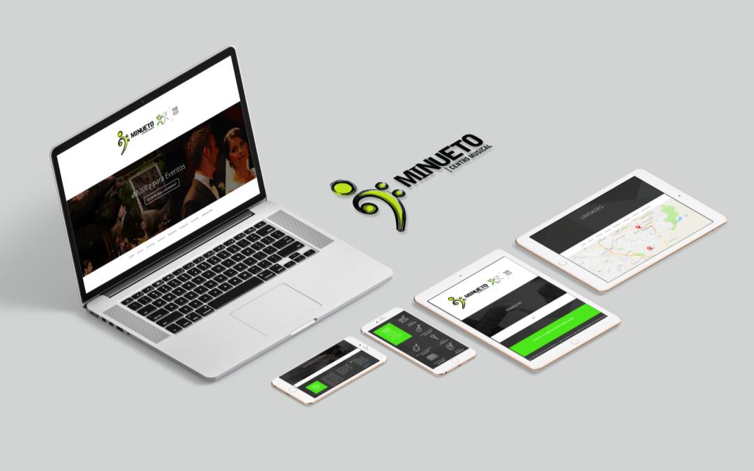 Minueto Centro Musical – Novo Website