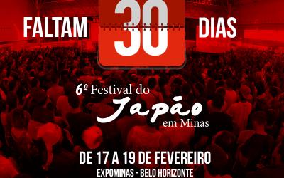 6ºFestival do Japão – Contagem Regressiva