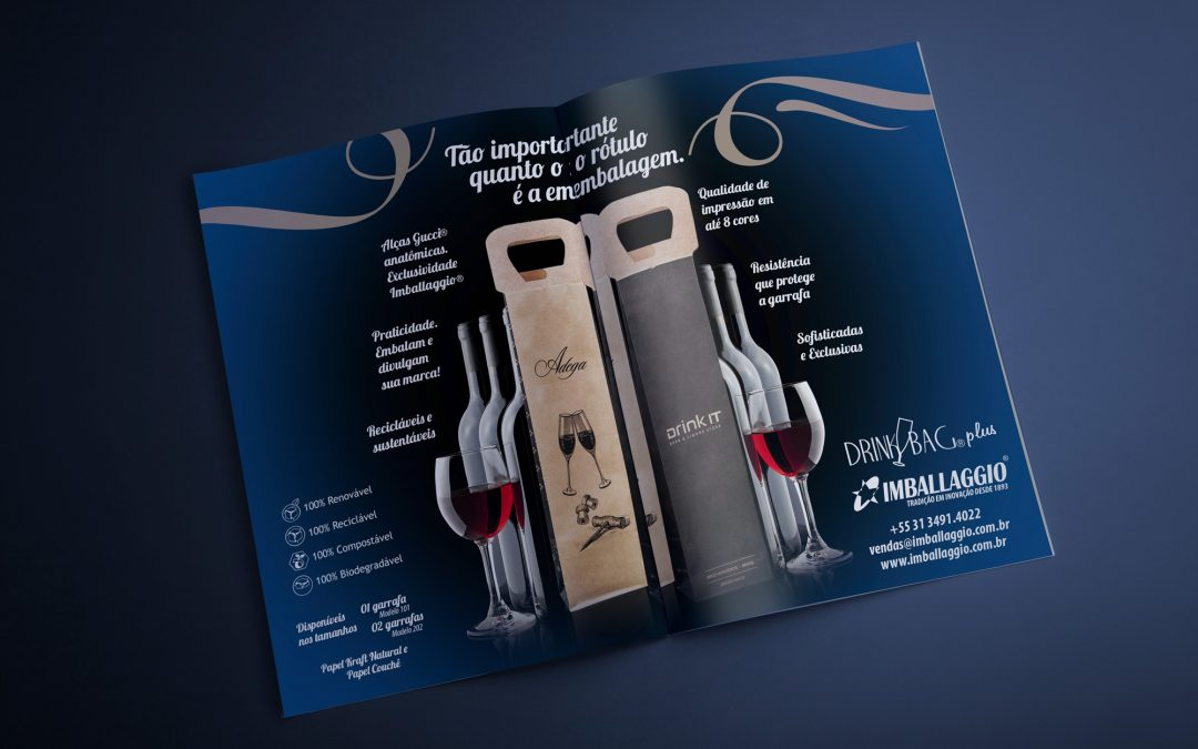 Imballaggio lança DrinkBag® Plus